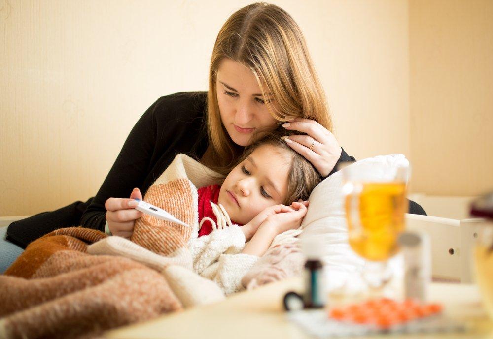 Этапы развития скарлатины у детей