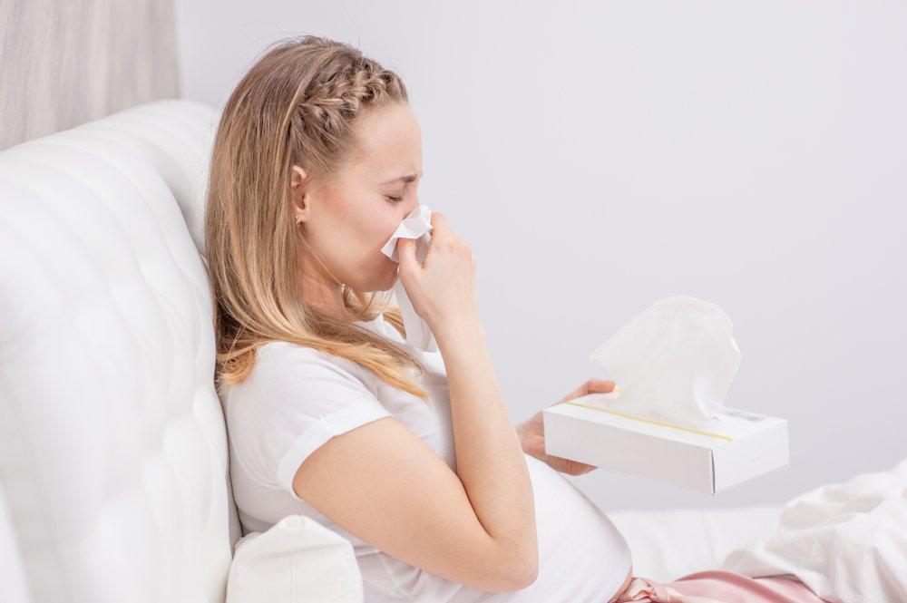 Признаки и симптомы ринита беременных