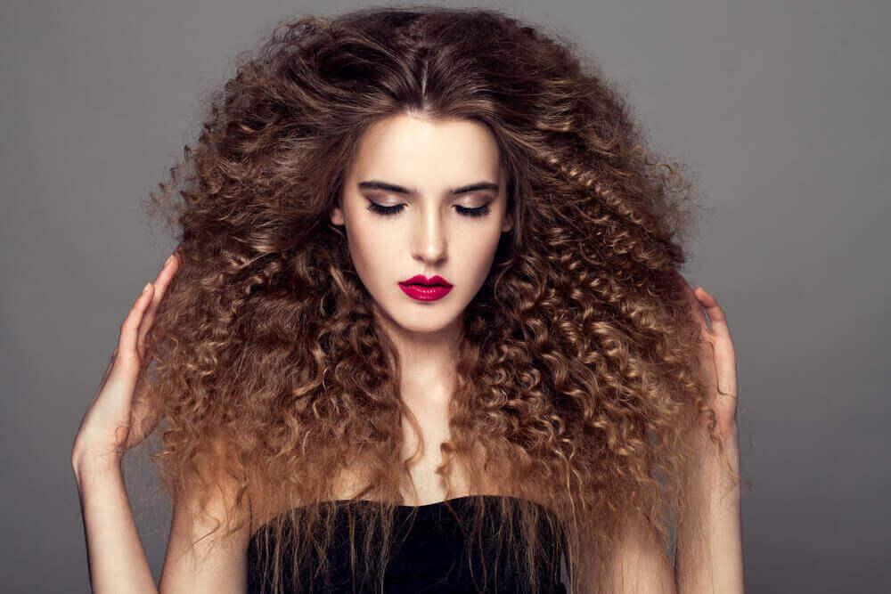 Шампунь и кондиционер для вьющихся волос