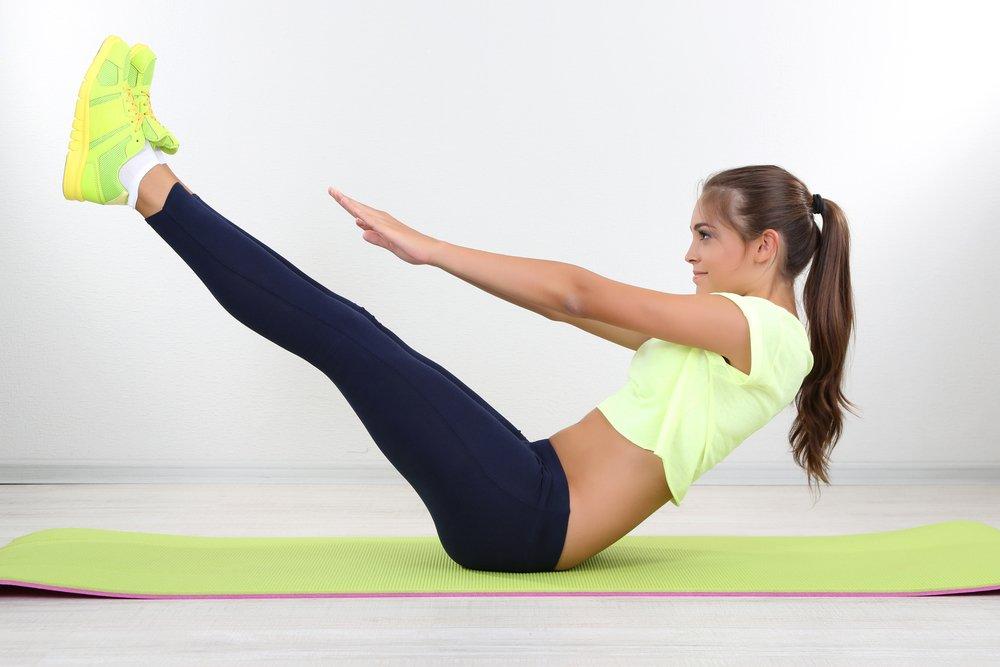 Упражнения, корректирующие зону живота