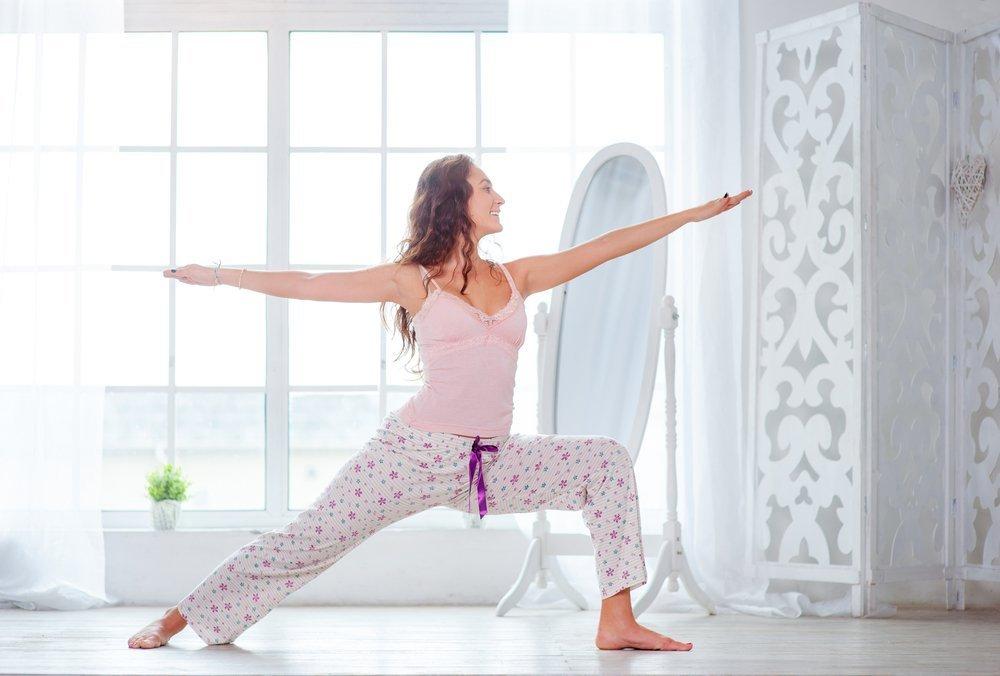 Утренняя зарядка как часть здорового образа жизни