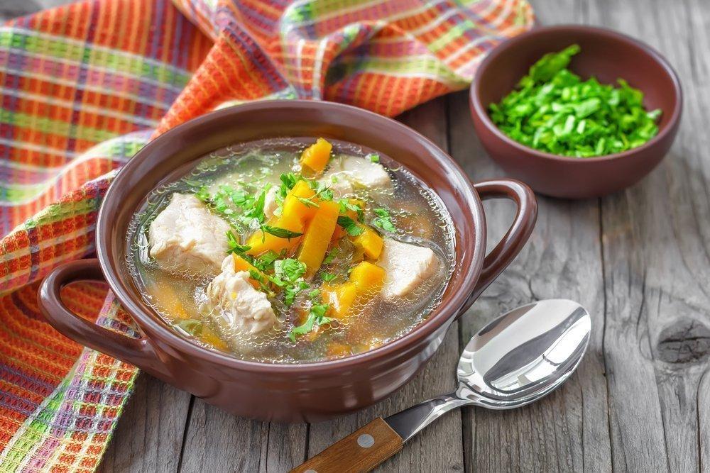 Лучшие рецепты: «белый» суп с говядиной