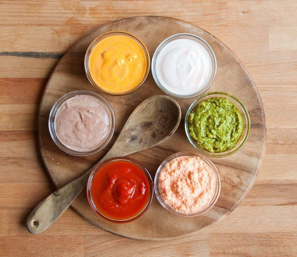 5. Соусы и салатные заправки