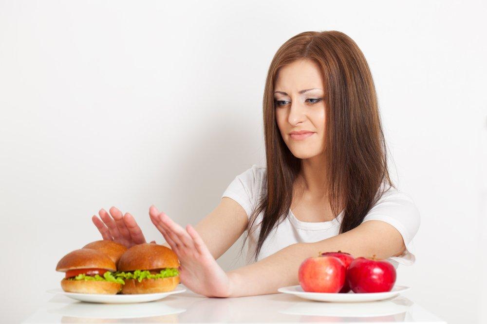 Условия для похудения: причины переедания