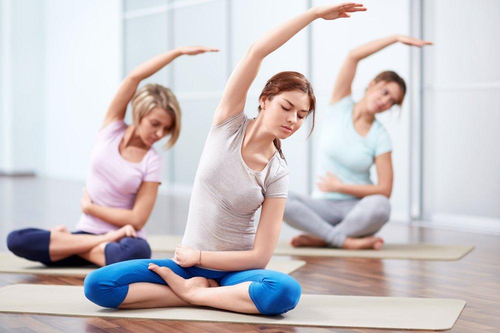 Базовые фитнес-упражнения из йоги