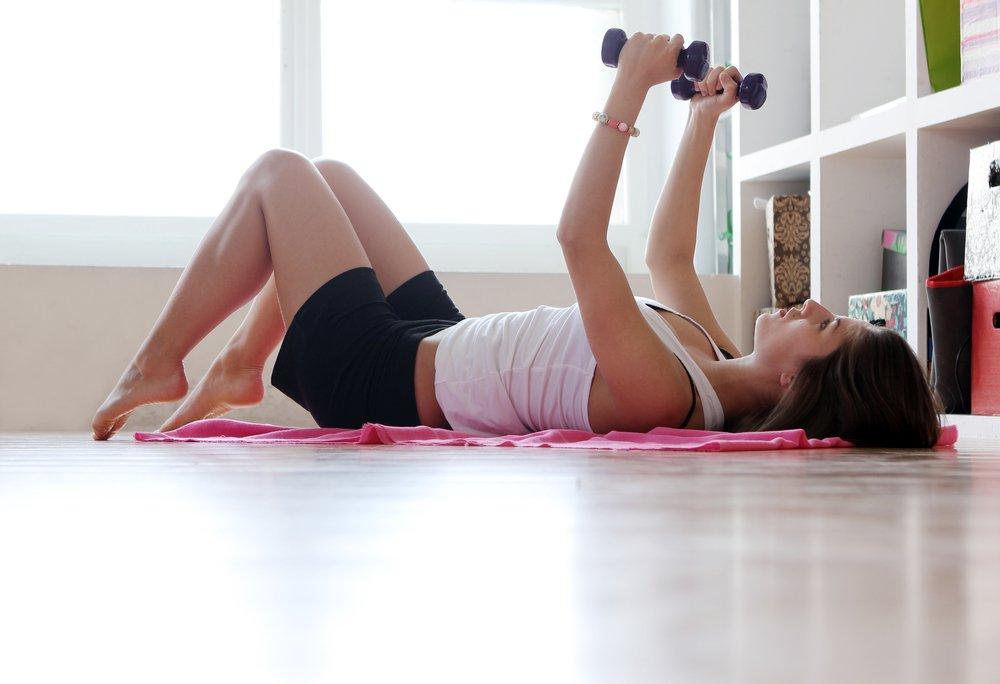 Силовые упражнения для домашнего тренинга