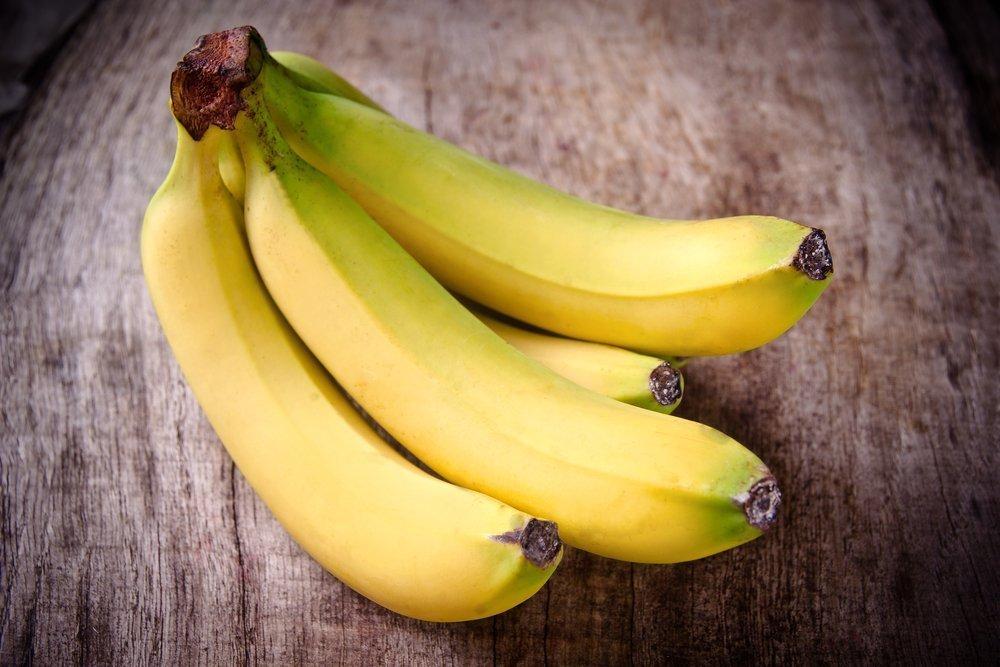3. Солнечное настроение: банан