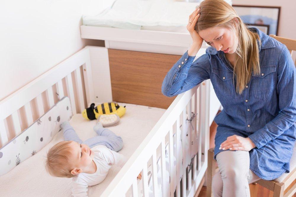 Материнская депрессия и дети