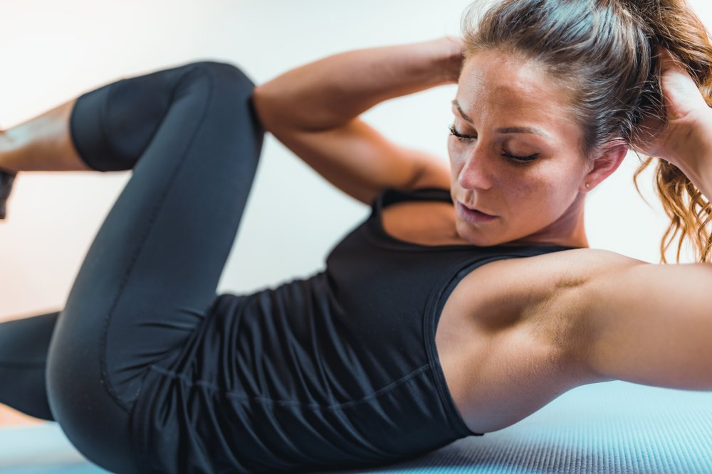 Регулярный фитнес – залог тонкой талии