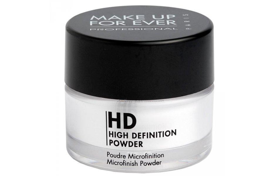 Минеральная пудра Make Up For Ever High Definition Powder, 8,5 г Источник: bridalguide.com