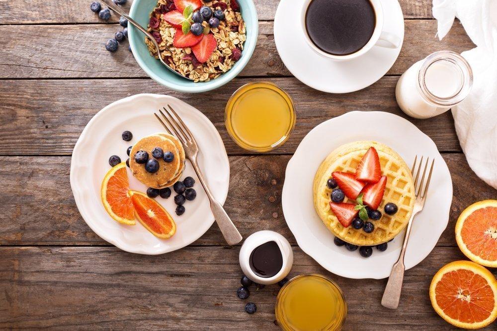 Какое питание по утрам предпочтительно для ведущих активный образ жизни?