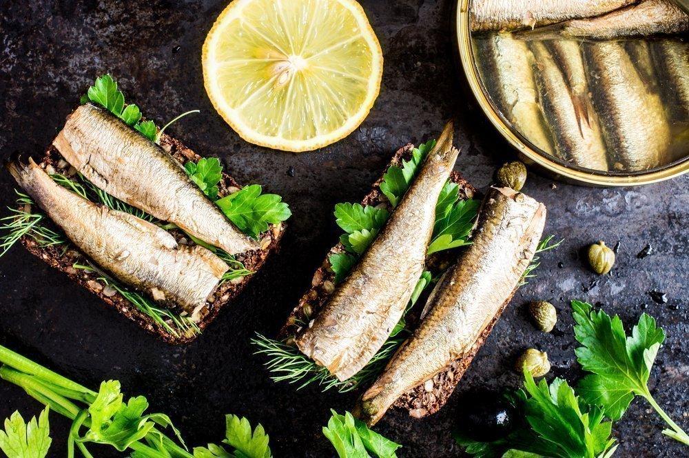 Консервы из рыбы и морепродуктов в питании