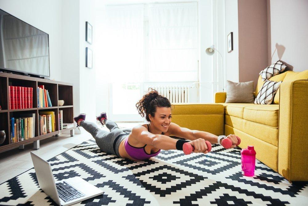 Советы по организации фитнес-тренировок дома