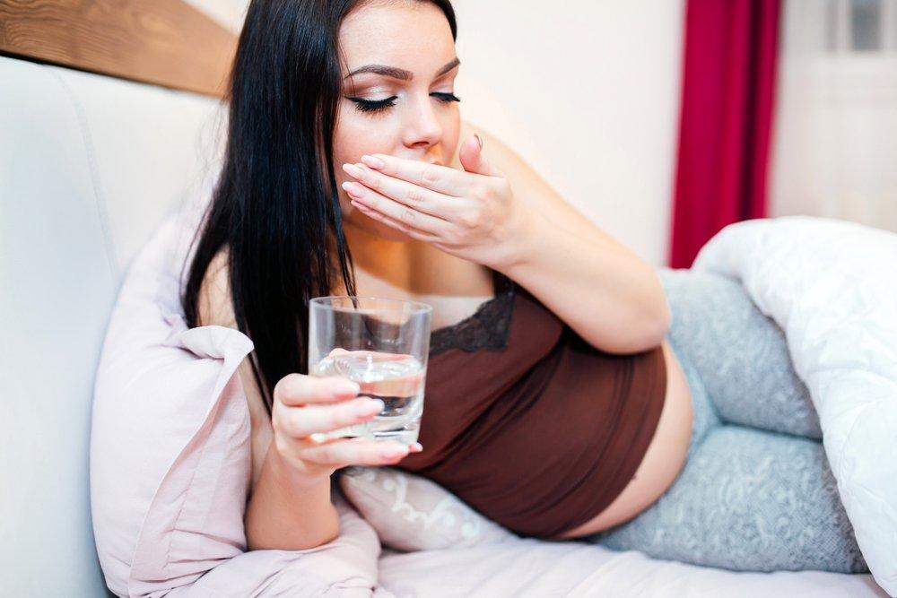Привкус у беременной во рту