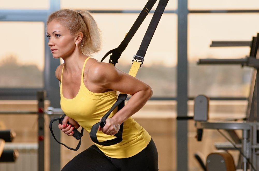 Достоинства фитнеса на TRX