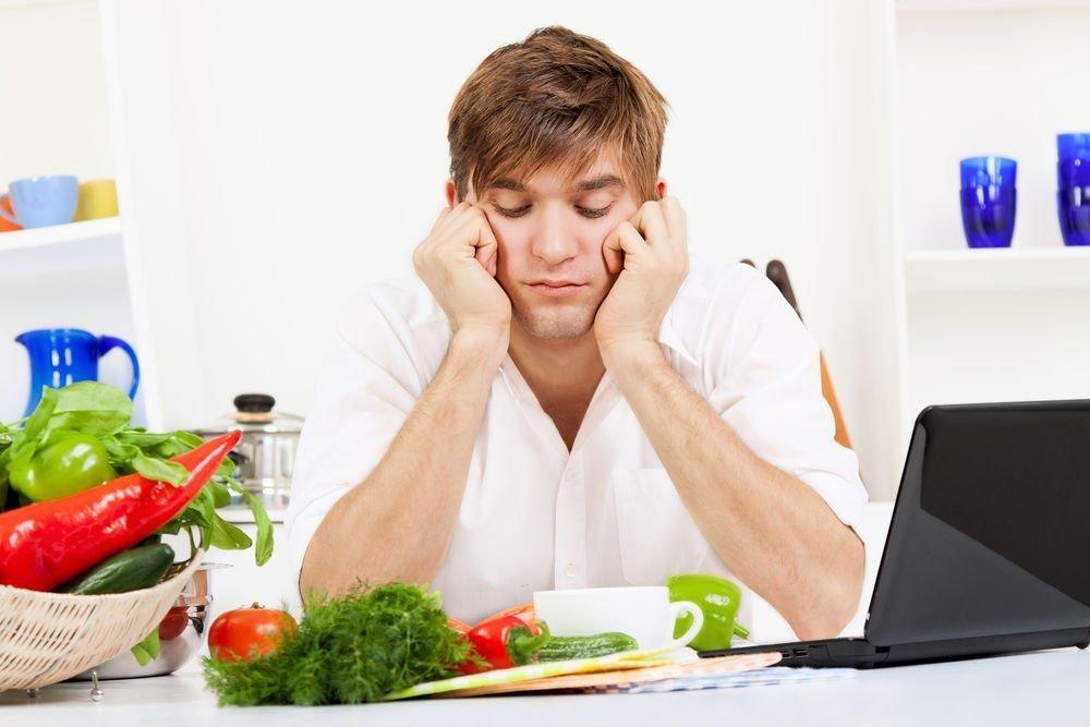 Влияние жирной пищи на потенцию