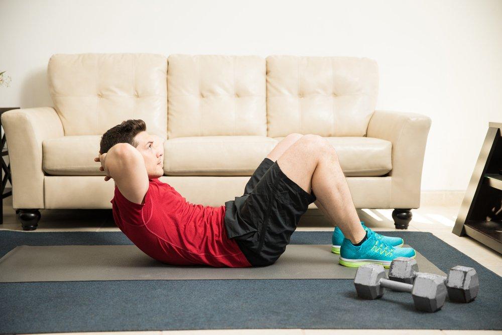 Фитнес-тренировка на массу для новичков