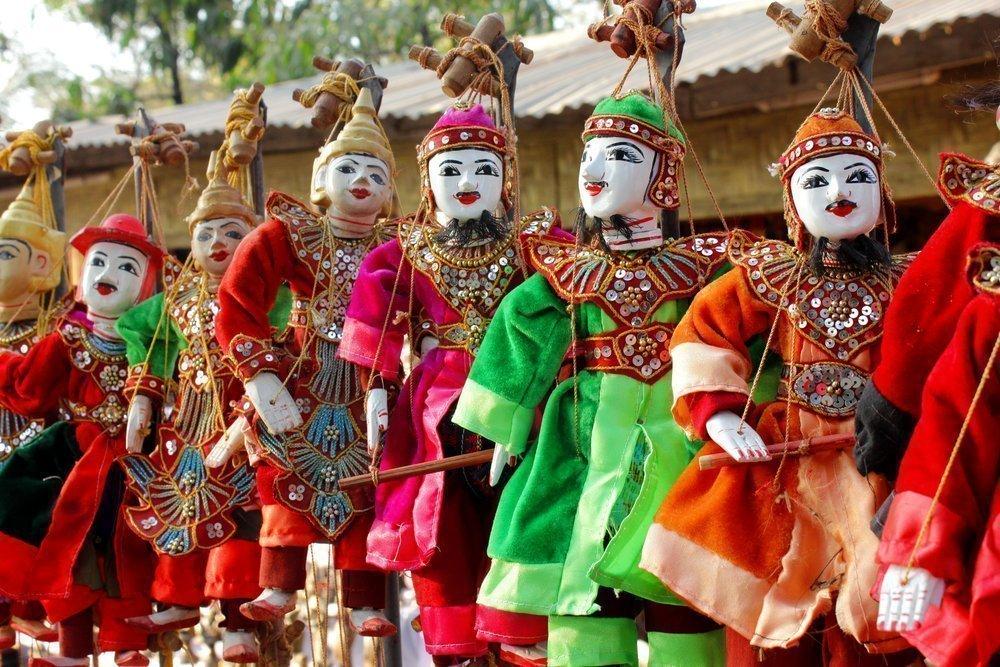 Куклы, кукольники и театр: история из глубины веков