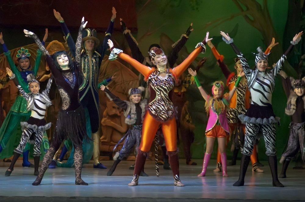 Театральные мюзиклы как составляющая музыкального воспитания