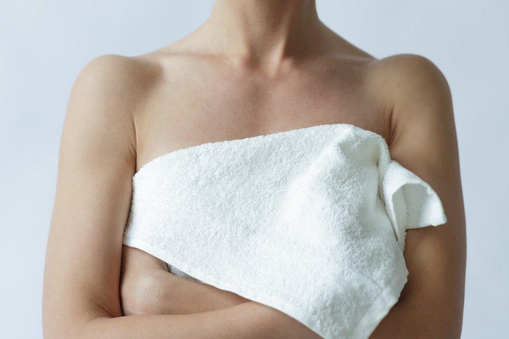 Тщательный уход за грудью