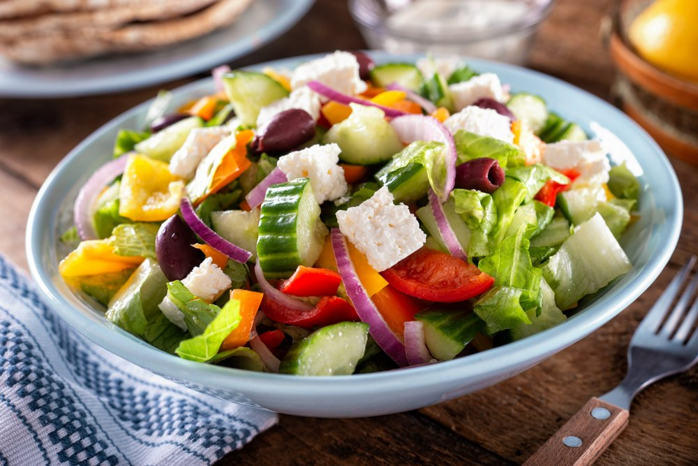 Рецепт всеми любимого греческого салата