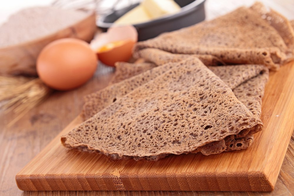 Правильное питание: гречневые блинчики с сальсой