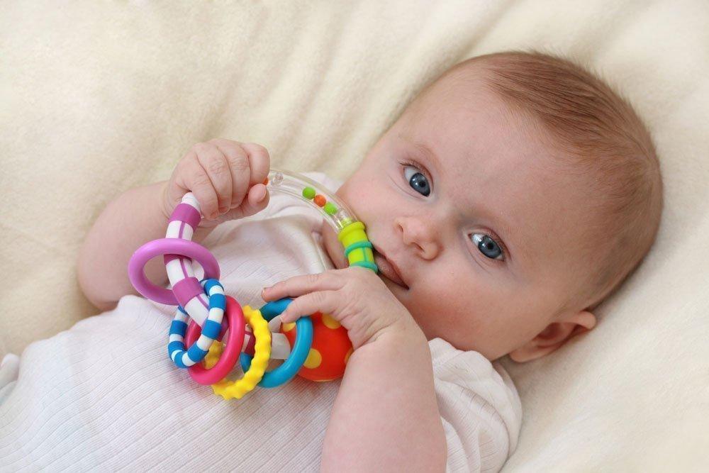 Развитие ребенка в первом полугодии жизни
