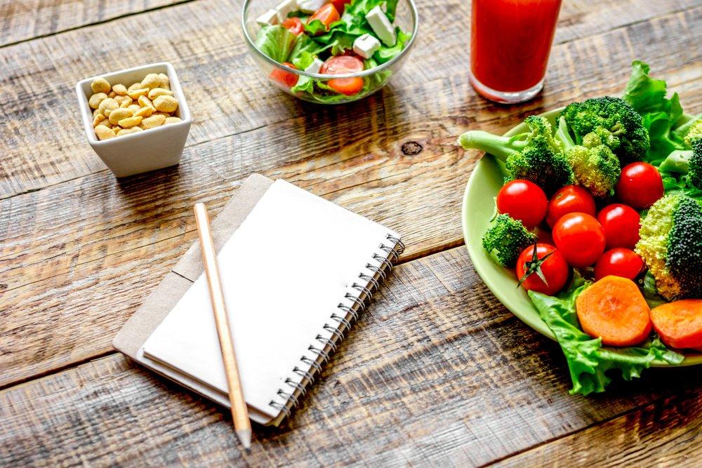 Похудение и правильное меню