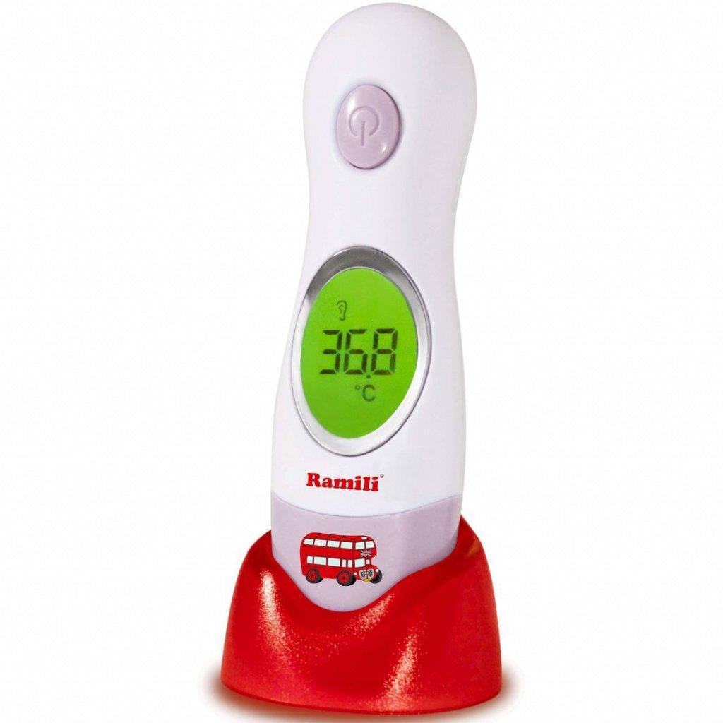 Инфракрасный ушной и лобный термометр Ramili ET3030