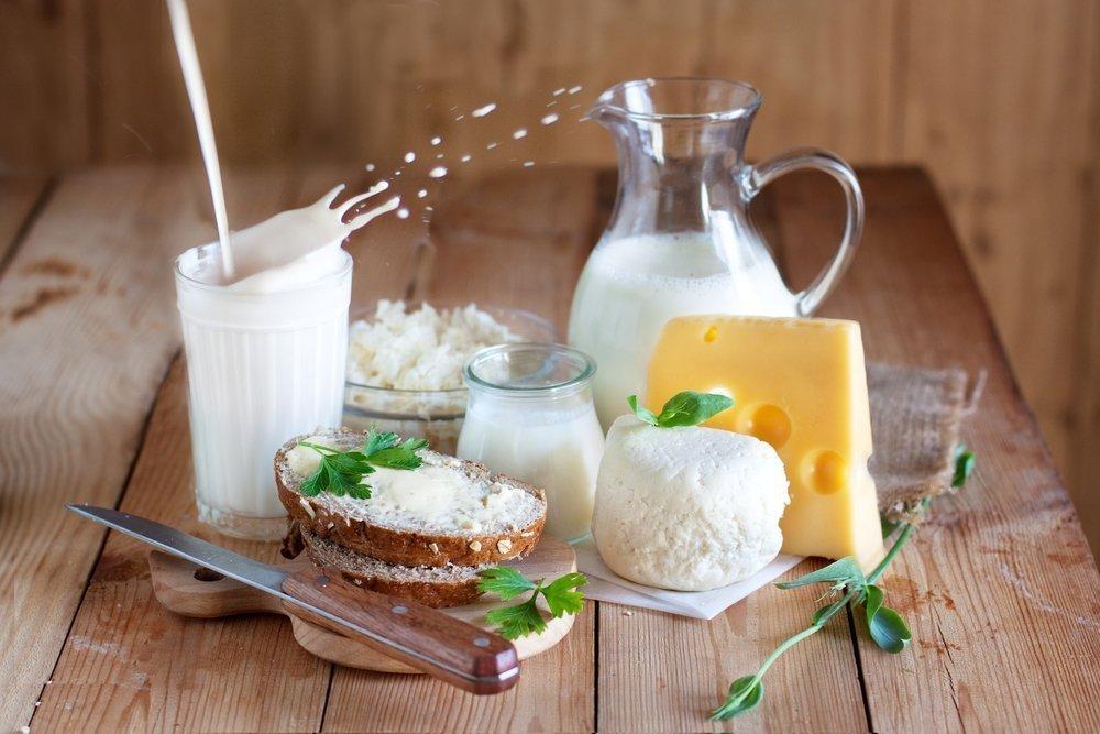 Обезжиренная молочная продукция
