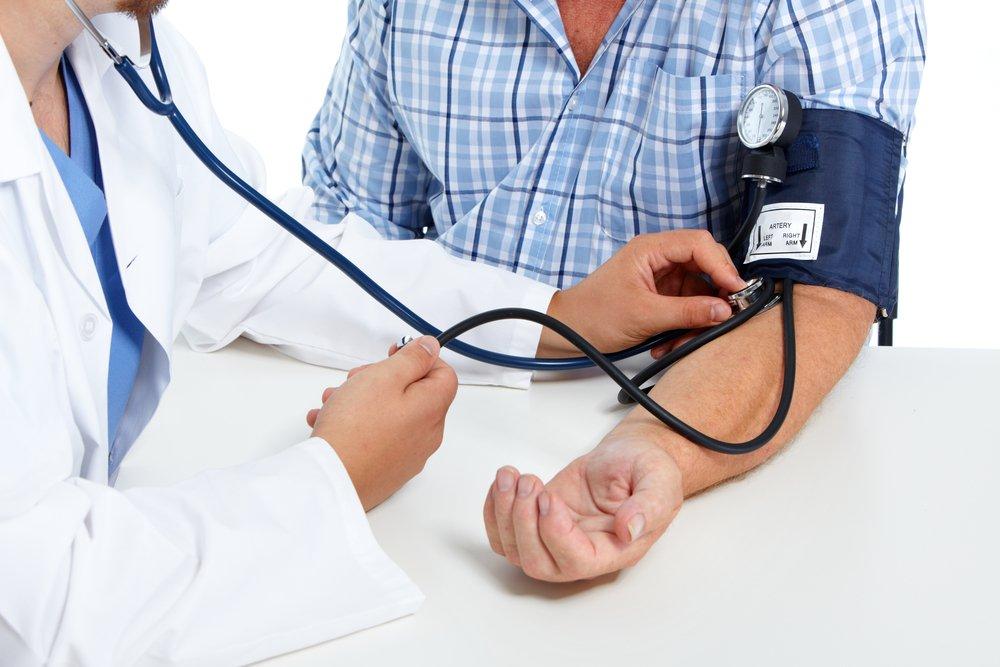 Последовательное снижение высокого кровяного давления