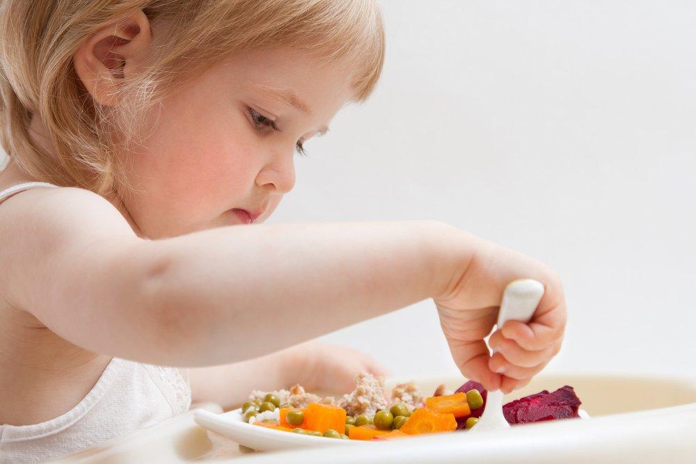 Примерное обеденное меню малыша в 2-3 года