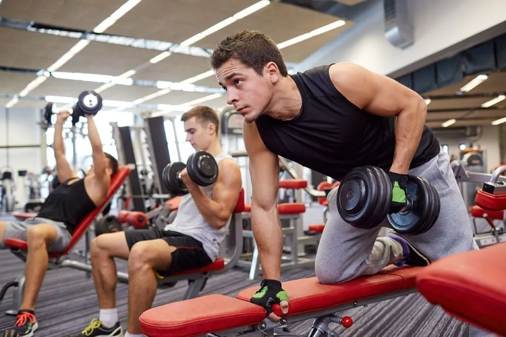 Комплекс упражнений для развития бицепсов