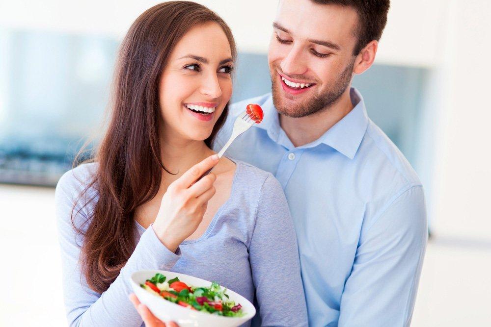 Организация питания для похудения и его польза для здоровья мужчины