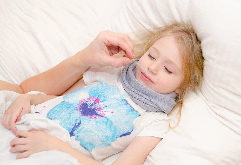 Как лечить насморк у ребенка 1 год и 7 месяцев