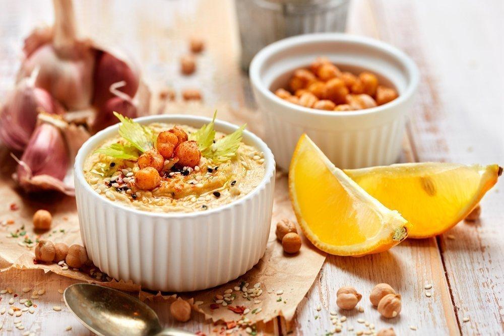 Вкусное похудение: ливанская закуска с фасолью и шпинатом