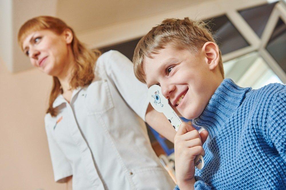 Диагностика детского астигматизма