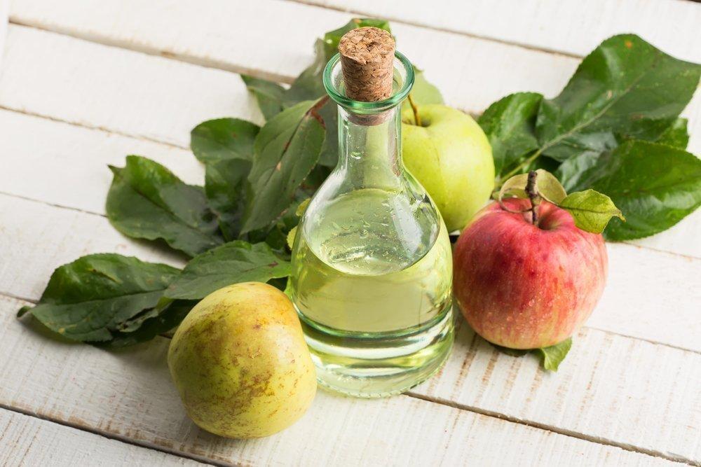 Яблочный уксус от сухости кожи головы