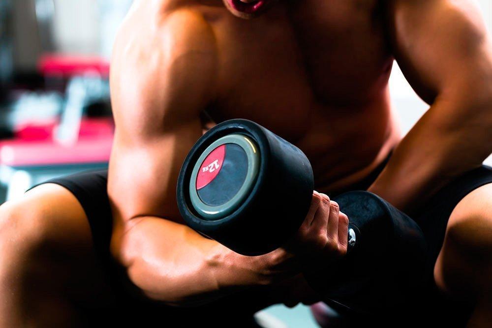 Фитнес-программа для роста мышц (график упражнения и отдыха)