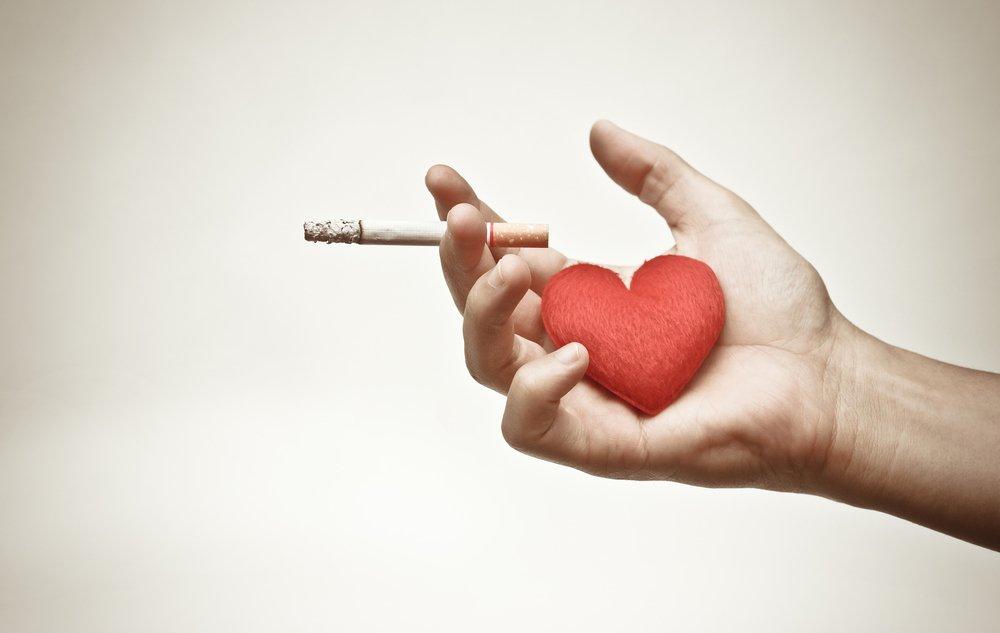 Отказ от вредной привычки к курению