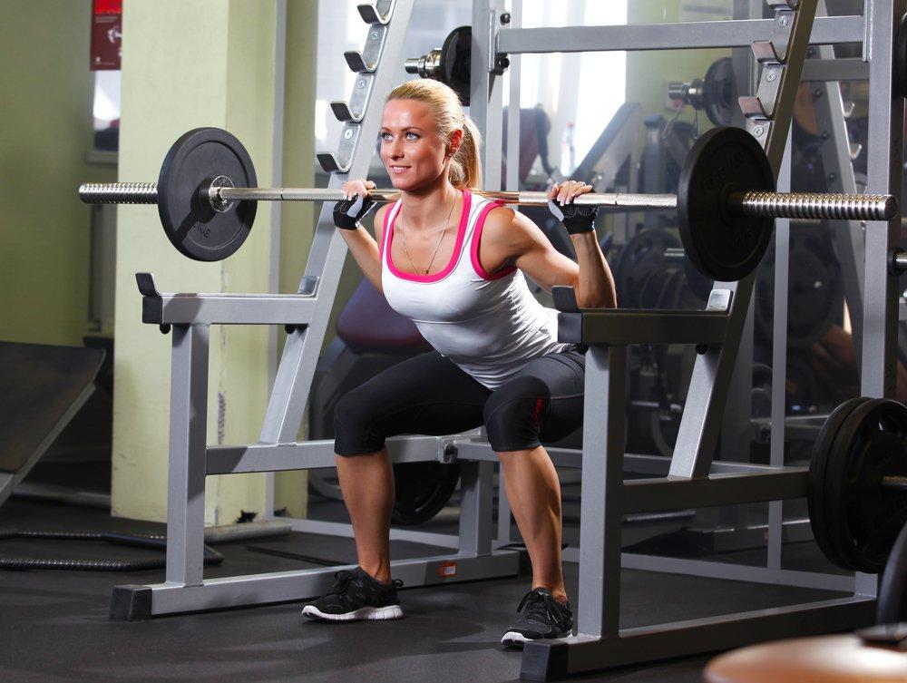 Фитнес-программа для тренажерного зала: женские тренировки