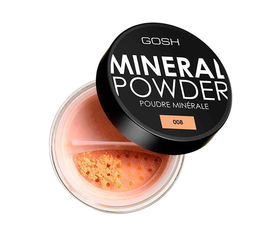 Минеральная пудра, Gosh Mineral Powder Источник: shop.monamie.kz