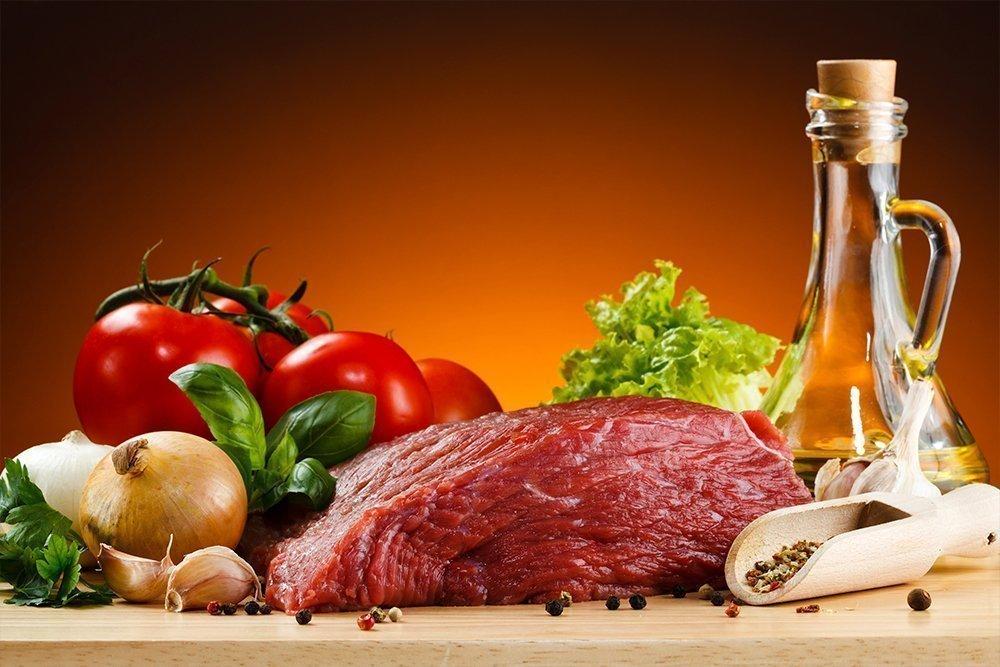 Говядина — для диетического питания только нежирная вырезка