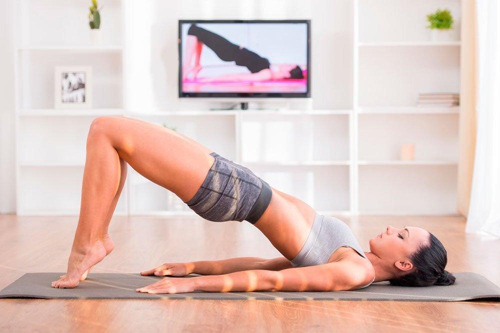 Фитнес-упражнения для здоровья ягодиц и бедер