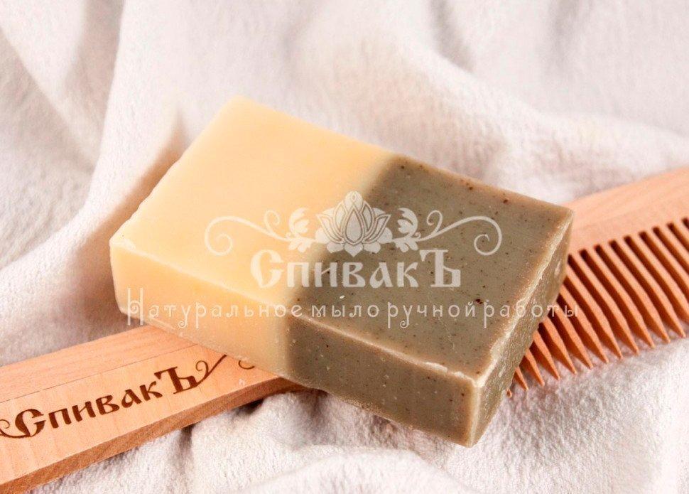 Мыло-шампунь Спивакъ «Крапива и Розмарин»