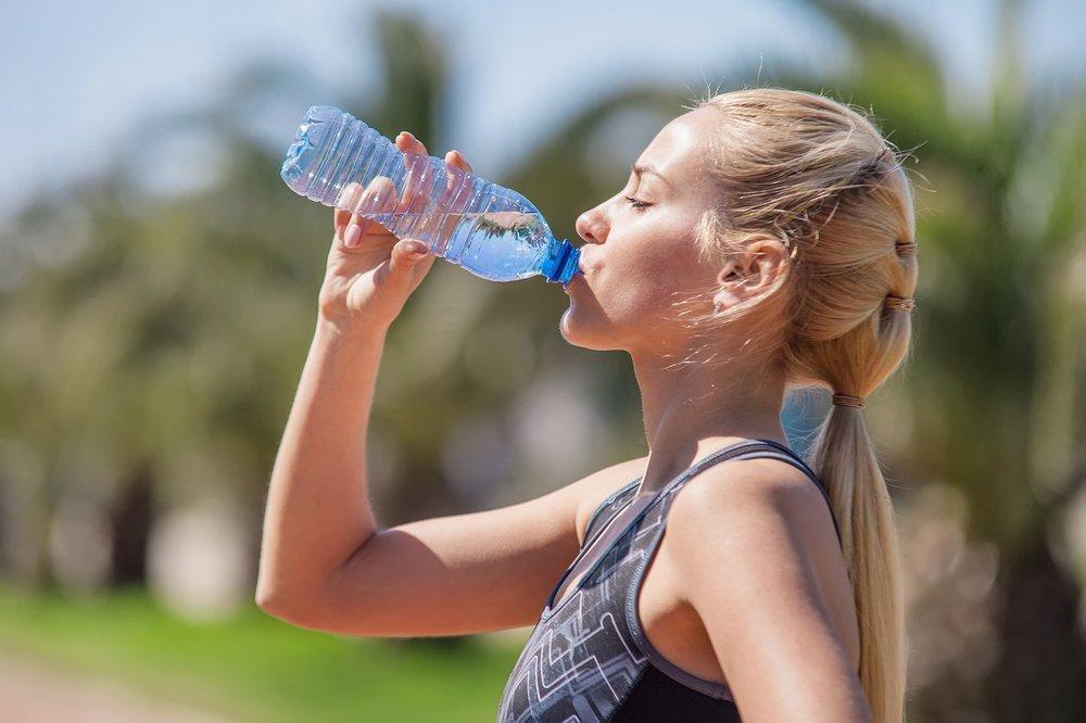 Вода в похудении