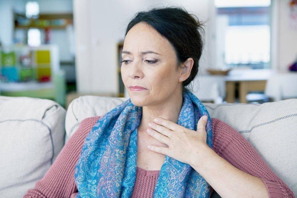 8. Боль в груди