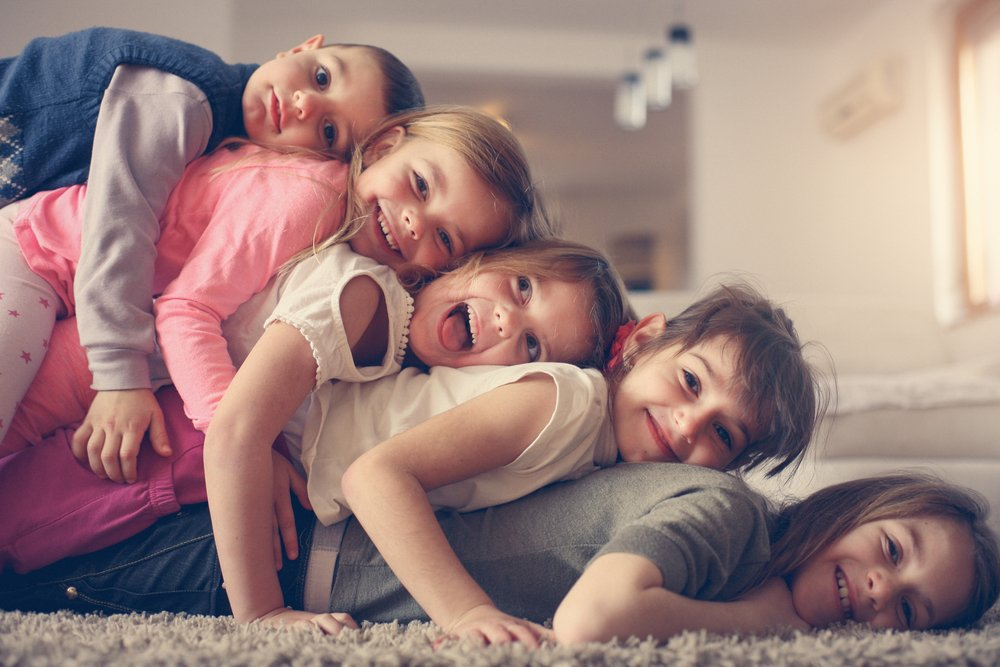 Воспитание детей разного возраста