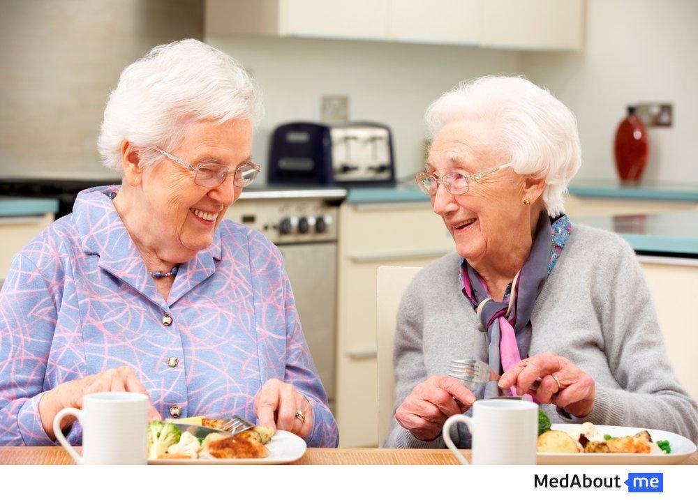 Срыгивание у людей более старшего возраста