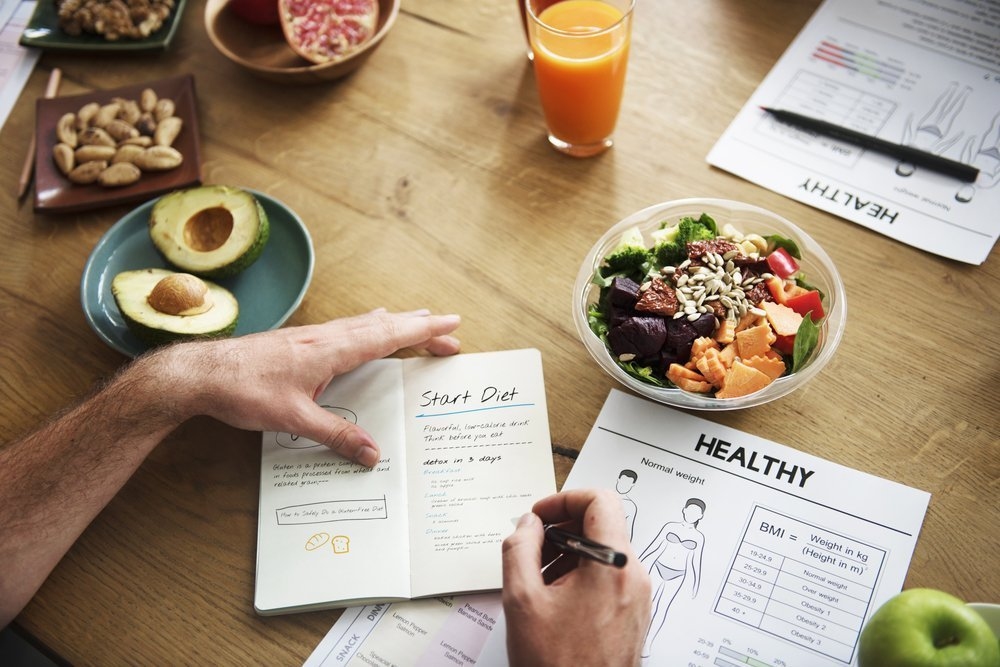 Принцип диеты для похудения
